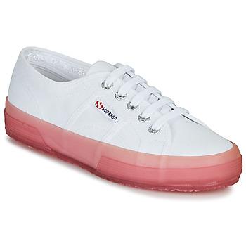 Sapatos Mulher Sapatilhas Superga 2750-JELLYGUM COTU Branco