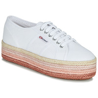 Sapatos Mulher Sapatilhas Superga 2790-COTCOLOROPEW Branco / Rosa