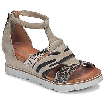 Sapatos Mulher Sandálias Mjus TAPASITA Toupeira / Leopardo