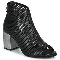 Sapatos Mulher Botas baixas Mjus MUSIC Preto