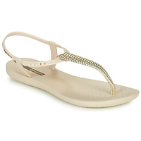 Sapatos Mulher Sandálias Ipanema CLASS GLAM III Bege / Ouro