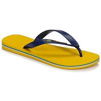 Sapatos Homem Chinelos Ipanema CLAS BRASIL II Amarelo / Azul