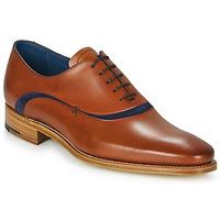Sapatos Homem Richelieu Barker EMERSON Castanho / Azul