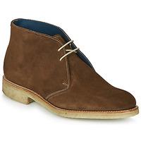 Sapatos Homem Botas baixas Barker CONNER Castanho