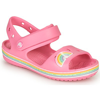 Sapatos Rapariga Sandálias Crocs CROCBAND IMAGINATION SANDAL PS Rosa