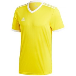 Textil T-Shirt mangas curtas adidas Originals Tabela 18 m/c Yellow-White