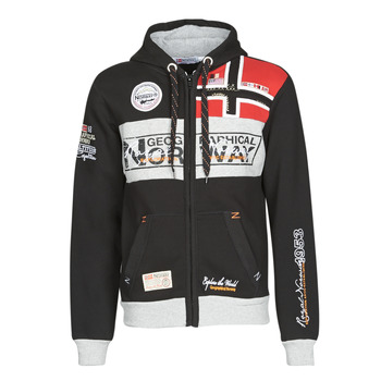 Textil Homem Sweats Geographical Norway FLYER Preto