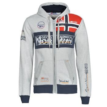 Textil Homem Sweats Geographical Norway FLYER Cinza