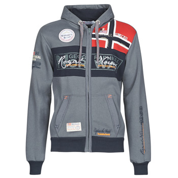 Textil Homem Sweats Geographical Norway FLYER Cinza / Escuro