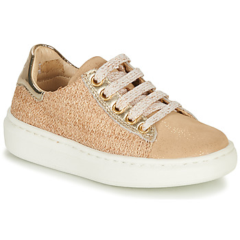 Sapatos Rapariga Sapatilhas Shoo Pom FLASH ZIP LACE Bege