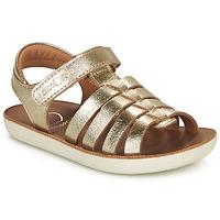 Sapatos Rapariga Sandálias Shoo Pom GOA SPART Ouro