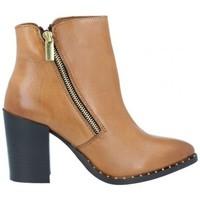 Sapatos Mulher Botins Azarey Azarey 465C920 Botines Casual con Tacón de Mujer castanho