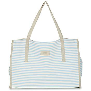 Malas Mulher Cabas / Sac shopping Banana Moon ZENON WELINGTON Branco / Azul