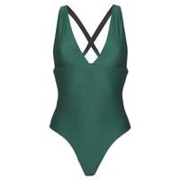 Textil Mulher Fatos de banho Banana Moon ODALIS ROMEO Verde / Escuro