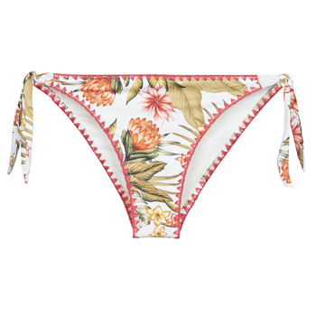 Textil Mulher Biquínis separados Banana Moon DIMKA LAHAINA Branco / Laranja