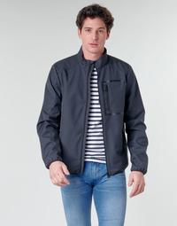 Textil Homem Jaquetas Geox OTTAYA JKT Marinho / Preto