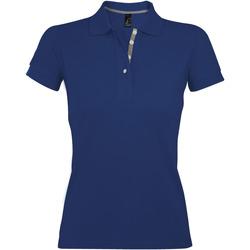 Textil Mulher Polos mangas curta Sols PORTLAND MODERN SPORT Azul