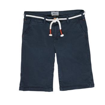 Textil Rapaz Shorts / Bermudas Deeluxe KARMA Marinho