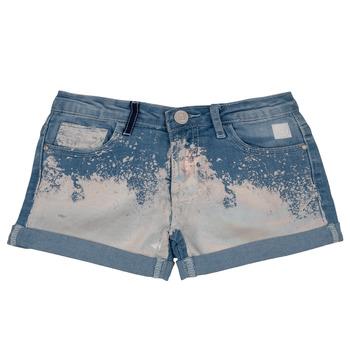 Textil Rapariga Shorts / Bermudas Desigual JORBA Azul