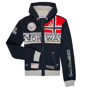 Textil Rapaz Sweats Geographical Norway FLYER Marinho
