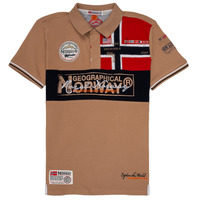 Textil Rapaz Polos mangas curta Geographical Norway KIDNEY Bege