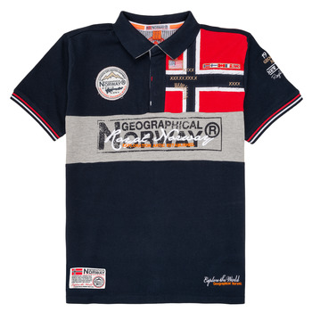 Textil Rapaz Polos mangas curta Geographical Norway KIDNEY Marinho