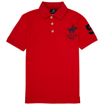 Textil Rapaz Polos mangas curta Geographical Norway KAMPAI Vermelho