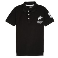 Textil Rapaz Polos mangas curta Geographical Norway KAMPAI Preto