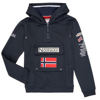 Textil Rapaz Sweats Geographical Norway GYMCLASS Marinho