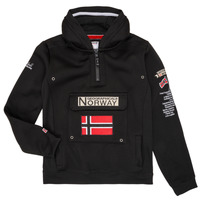 Textil Rapaz Sweats Geographical Norway GYMCLASS Preto
