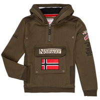 Textil Rapaz Sweats Geographical Norway GYMCLASS Cáqui