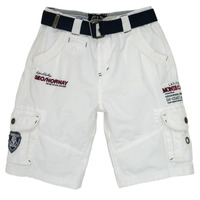 Textil Rapaz Shorts / Bermudas Geographical Norway POUDRE Branco