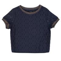 Textil Rapariga Tops / Blusas Ikks CLOTHILDE Marinho