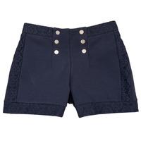 Textil Rapariga Shorts / Bermudas Ikks SOLISSO Marinho