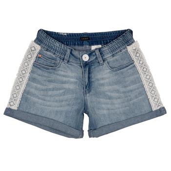 Textil Rapariga Shorts / Bermudas Ikks ISAHA Azul