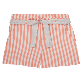 Textil Rapariga Shorts / Bermudas Ikks BADISSIO Laranja
