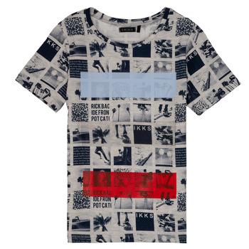 Textil Rapaz T-Shirt mangas curtas Ikks JULIEN Bege