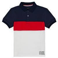 Textil Rapaz Polos mangas curta Ikks LORIE Branco