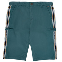 Textil Rapaz Shorts / Bermudas Ikks MANUELA Azul / Verde