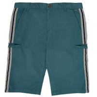 Textil Rapaz Shorts / Bermudas Ikks MANUEL Azul / Verde