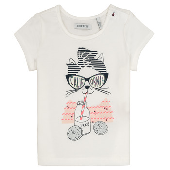 Textil Rapariga T-Shirt mangas curtas Ikks MEOLIA Branco