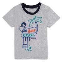 Textil Rapaz T-Shirt mangas curtas Ikks LISIANA Cinza