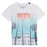 Textil Rapaz T-Shirt mangas curtas Ikks JOSIANE Branco