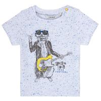 Textil Rapaz T-Shirt mangas curtas Ikks MARIO Branco