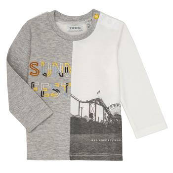 Textil Rapaz T-shirt mangas compridas Ikks MAELINO Cinza