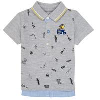 Textil Rapaz Polos mangas curta Ikks MAELYS Cinza