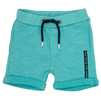 Textil Rapaz Shorts / Bermudas Ikks POLEMAN Turquesa