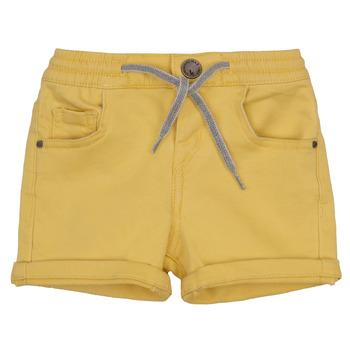 Textil Rapaz Shorts / Bermudas Ikks XAVIER Amarelo