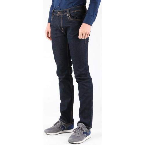 M21030D05B0 DRRN  Guess  calças jeans  homem  navy blue