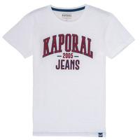 Textil Rapaz T-Shirt mangas curtas Kaporal ERNIE Branco